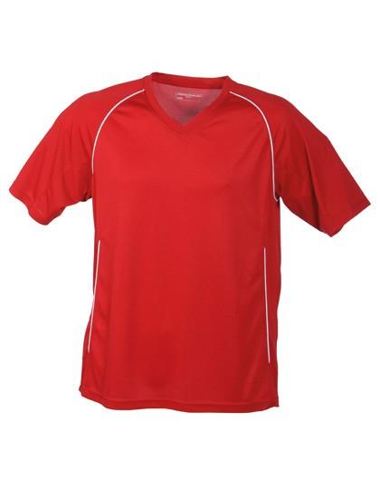 Erwachsenen-Sport-Shirt_red/white