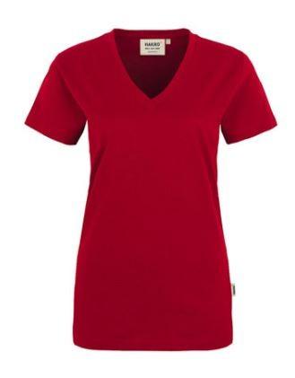 Damen-T-Shirt V-Neck